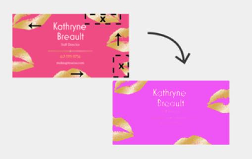 Design Edits example