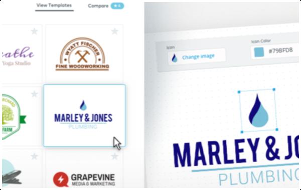 DIY Logo Maker example