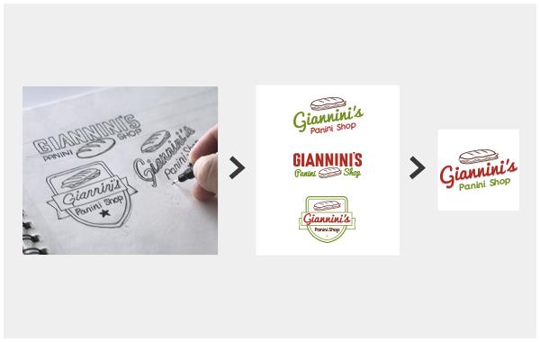Professional logo creation example